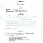 stanovy spolku - strana 1