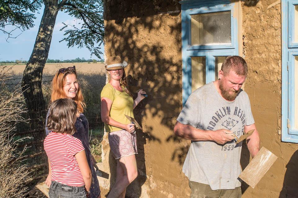 Zemček: tvořili jsme venkovní hliněné omítky